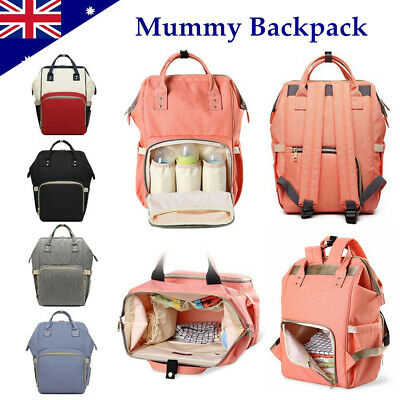 New Luxury Large Mummy Maternity Nappy Diaper Bag Baby Bag Travel Backpack Hot