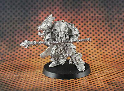 Warhammer 40k Space wolves Njal Stormcaller in termo armor