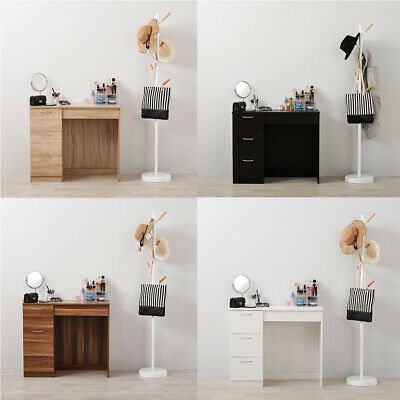 Home Dressing Table Make-up Computer Desk with  3 Drawers Bedroom Furniture