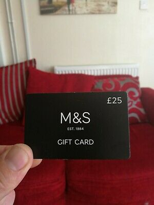 £25 Marks and Voucher gift card