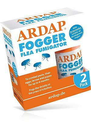 Ardap Fogger Flea Fumigator 2x 100ml | Insect and bug killer for household and