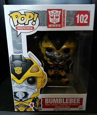 Funko POP! Movies Aunthentic Transformers BUMBLE BEE
