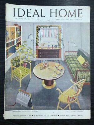 The Ideal Home: Winter Precautions, Furnishing, Decoration, September 1949