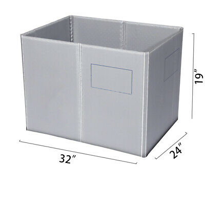 "32"" x 24"" x 19"" Plastic Pallet Pack Container Board"