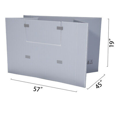 "57"" x 45"" x 19"" Plastic Pallet Pack Container Board"
