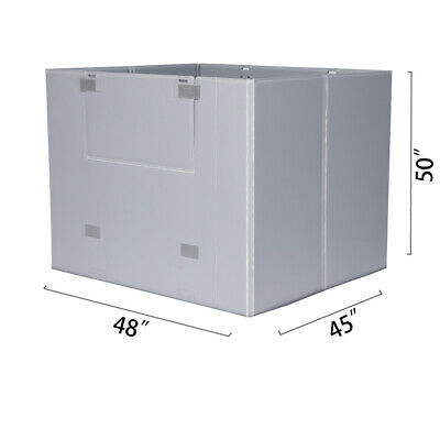"48"" x 45"" x 50"" Plastic Pallet Pack Container Board"