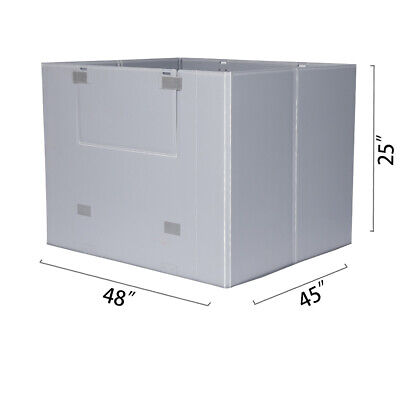 "48"" x 45"" x 25"" Plastic Pallet Pack Container Board"