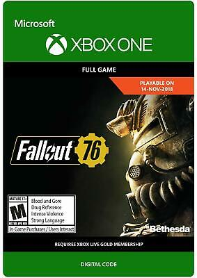 Fallout 76 - Download Code - Xbox One Full Game