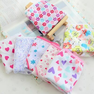 Baby Girls Underwear 6pcs/pack Cotton Panties Kids Short Briefs Children Underpa