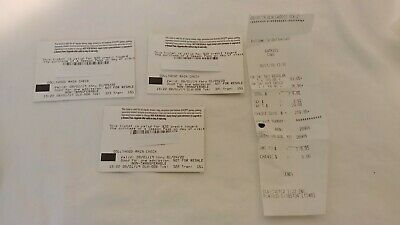 Dollywood Theme Park 3 Tickets 1 Adult Two Kids Rainchecks Good Until 2020