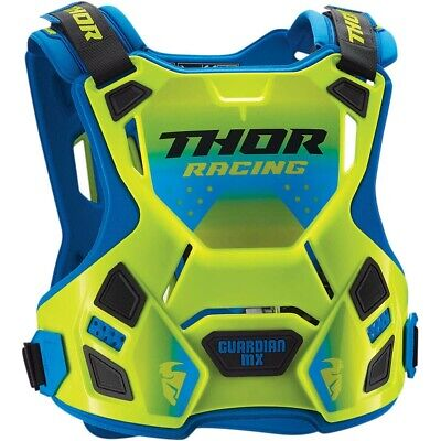 Thor Guardian MX Motocross Chest Protector Body Armour Green Adults Medium Large