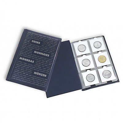 Pocket album Lighthouse NUMIS 325026 for 60 coins in cardboard coin holders