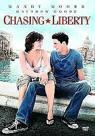Chasing Liberty DVD (2004) Mandy Moore -With Special Features-R2-Free P&P