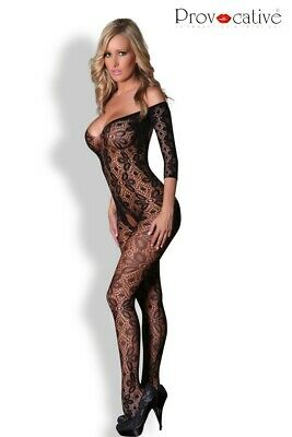 Bodystocking Ouvert Noir PR4162 Provocative