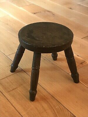 Antique Solid Wood Stool