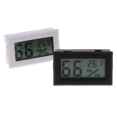 Digital LCD Thermometer Hygrometer Humidity Meter Room Indoor Temperature PLUS