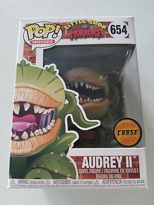 FUNKO POP! Little Shop of Horrors CHASE Audrey II 2 #654 W/Protector