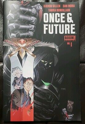 ONCE AND FUTURE #1 Boom 1st Print - Hot New Comic Book by Kieron Gillen