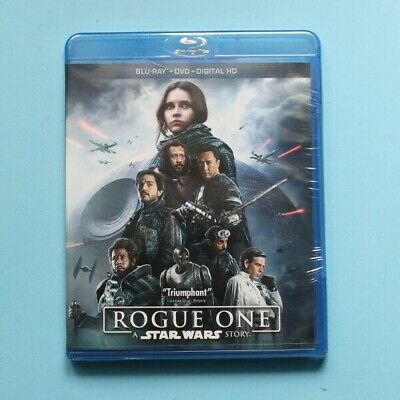 Rogue One: A Star Wars Story Blu-ray/DVD, 2017, Includes Digital BRAND NEW