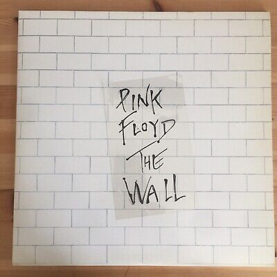 "Pink Floyd - The Wall - 1979 1st Press UK Excellent Condition + ""sticker"""