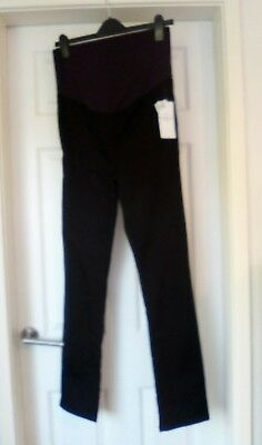 """BNWT Ladies Black Maternity Lightweight """"over bump"""" Jeans 8 MARKS  SPENCER 35.00"""
