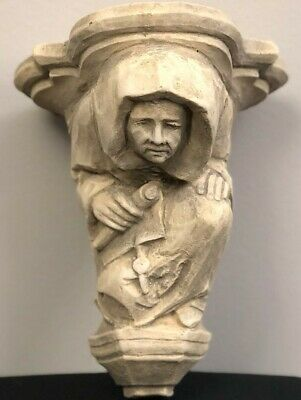 Monk Corbel Garden Architectural Accent Vintage Reproduction