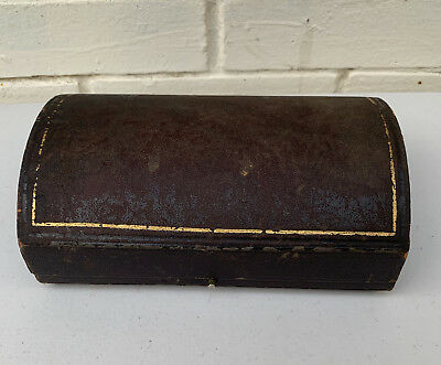 Victorian Jewellery / Trinket Box / decanter labels Box w/ original compartments