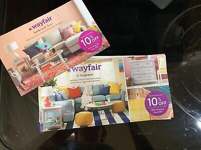 Wayfair 10% off entire order COUPON Discount Promo Code certificate Wayfair.com