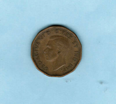 1943 Canadian WWII Tombac Nickel