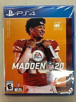 Madden NFL 20, PS4, Playstation 4, Brand New, Fast Shipping Today !!!!