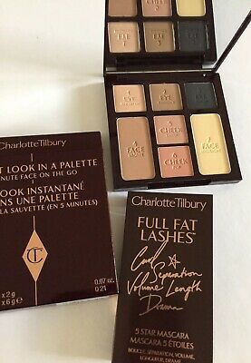 Charlotte Tilbury Instant Look In a Palette Smokey Eye & Full Fat Lashes Mascara