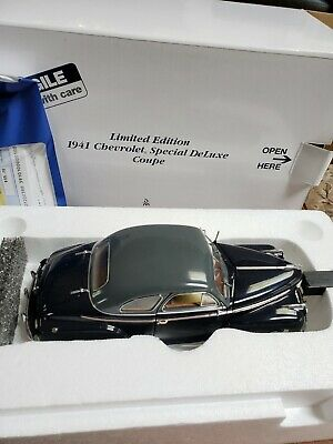 1941 CHEVROLET SPECIAL DELUXE COUPE DANBURY MINT PAPERWORK SET