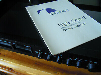 Nakamichi High-Com II Noise Reduction System