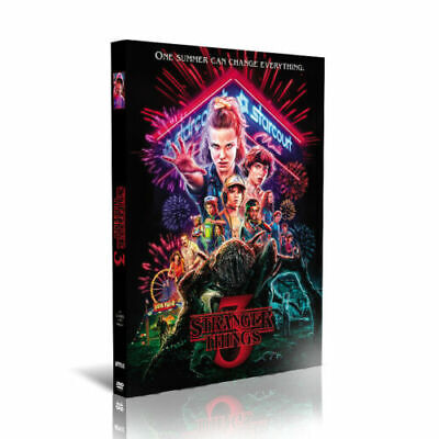 Stranger Things Complete Season 3 DVD Boxset - 2019 New & Sealed - Fast Postage