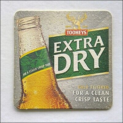Tooheys Extra Dry Cold Filtered For A Clean Crisp Taste Coaster (B373)