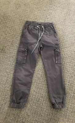 Boys Henleys Chinos Sz 8 Grey