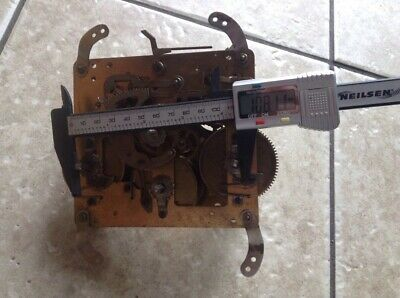 Vintage 5 Hammer Westminster Mantle Clock Movement. In Good Condition & Working