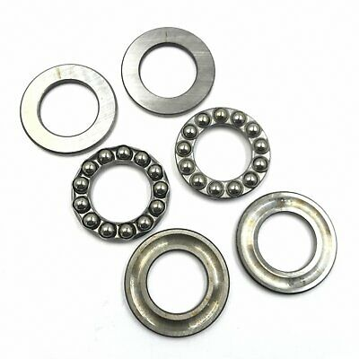 x 3mm OD 10 pieces 2mm x 6mm Thickness F2-6M Axial Ball Thrust Bearing ID