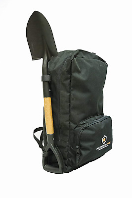 HD Backpack for Metal Detector and accesories - with shovel mount