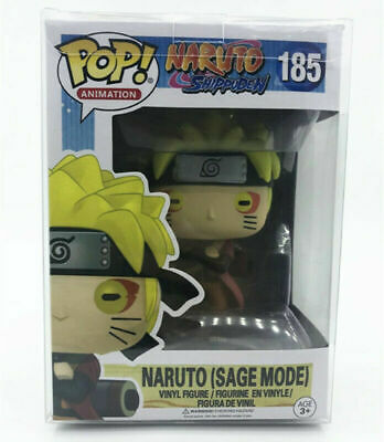 POP! Naruto Shippuden #185 Naruto (Sage Mode) Vinyl Figure With Protector Box