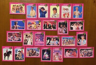 Scanlens Young Talent Time YTT 1980s Collectable Cards x 24