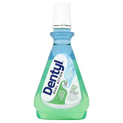 Dentyl Active Smooth Mint Plaque Fighter 500 ml X 3 Bottles