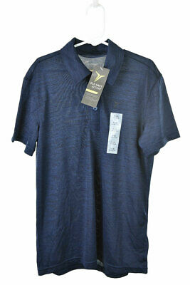 Active by Old Navy Boys Tops Polo Shirts M Blue Polyester
