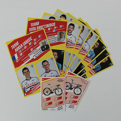 PANINI sealed UPDATE SET   TOUR de FRANCE 2019    30 extra stickers + 2 cards