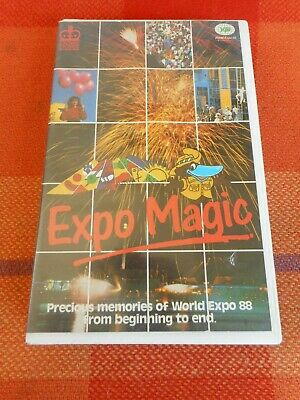 Expo Magic - The Spirit Lives On! Expo 88 / Rare VHS Video