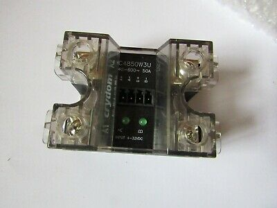 Crydom 50A rms Solid State Relay, Zero Volt, Panel Mount 48Vdc Max a2 7034757