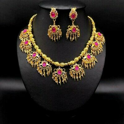 RamThai Dance Costume Wedding Traditional Thai Women Accessories Jewelry 4 Pcs