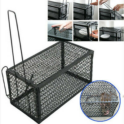 1/2Humane Rat Trap Hamster Cage Animal Rodent Mouse Control Mice Live Bait Catch
