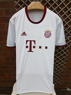 Bayern Munich Football Club Mens Uk Size Xl Adidas 2016/17 3Rd Shirt