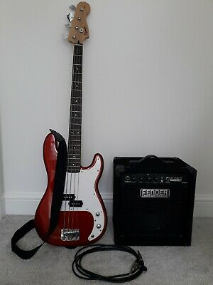 Fender Squier P-Bass Affinity with Fender Bass Amp